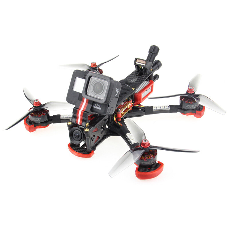 HGLRC Sector 5 V3 6S Freestyle FPV Racing Drone HD Version PNP/BNF Zeus F722 w/Caddx Air Unit 2306.5 1900KV Motor