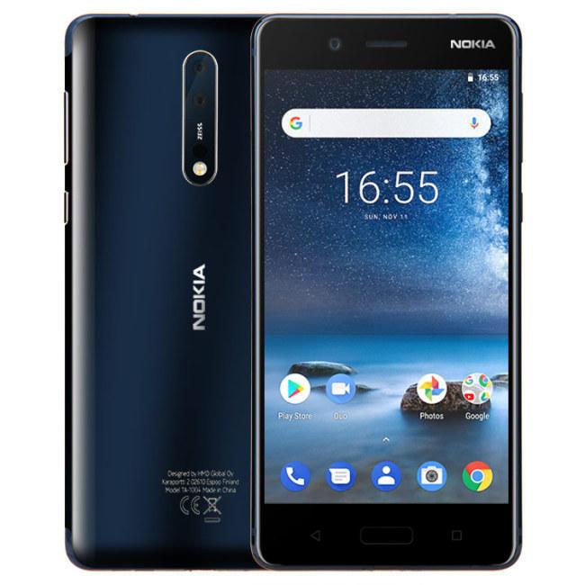NOKIA 8 Global Version 5.3 inch 6GB 128GB Snapdragon 835 Octa Core 4G Smartphone