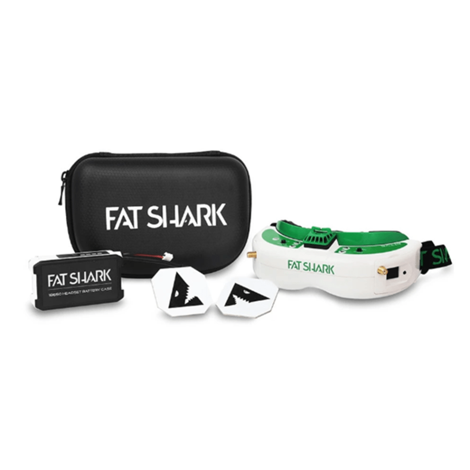 Fat Shark Attitude V6 FPV Goggles 1280x960 True Diversity Video Glasses With DVR for FPV Racing RC Drone