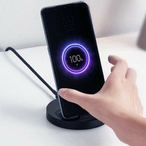Στα €12.35 από αποθήκη Κίνας | Xiaomi 20W Vertical Wireless Charger Flash Charging Stand Holder Horizontal for Xiaomi Mi 9 MIX 2S