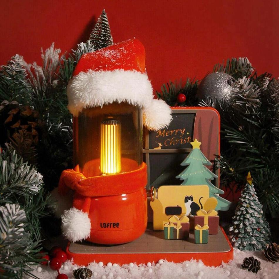 Lofree Candle Night Light Christmas Gift Portable LED Atmosphere Table Lamp Home Festival Decor from Xiaomi Youpin