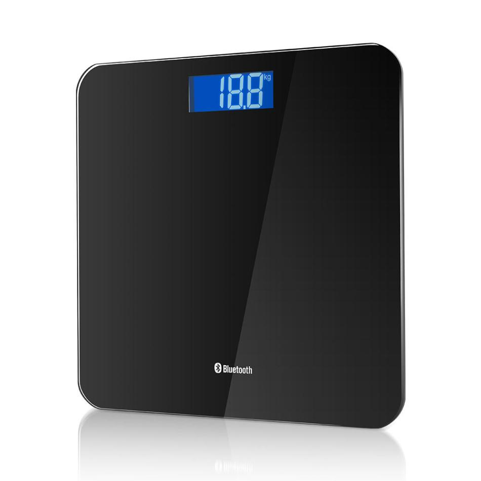 Digoo DG-B8025 LCD Bluethooth Weight Scale Human Body Weight Measurement APP Record Tracking Scale