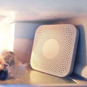Στα €16.50 από αποθήκη Κίνας | VIOMI VF-2CB Square White Kitchen Refrigerator Air Purifier Household Ozone Sterilizing Deodor Device Flavor Filter Core From – White