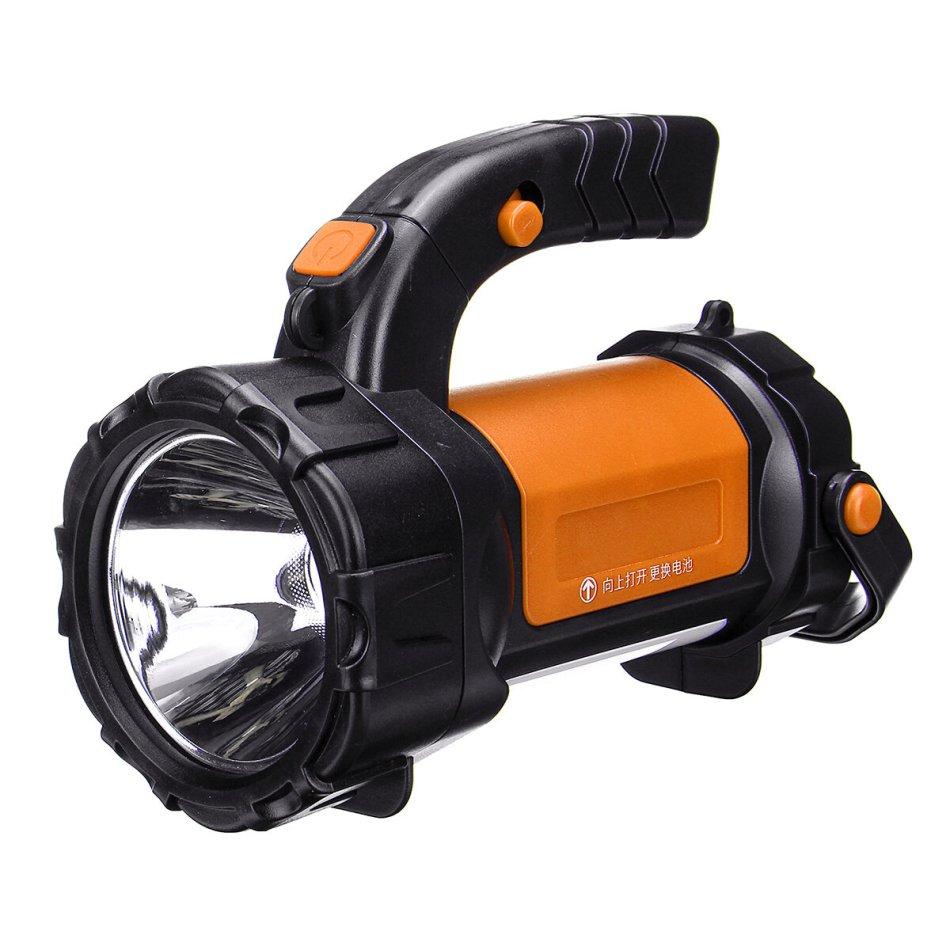IPRee® 200W 2000Lumen 3Modes 1000M 8000mAh Waterproof USB Rechargeable LED Work Light Outdoor Camping Light Spotlight HandLamp-Red/Orange