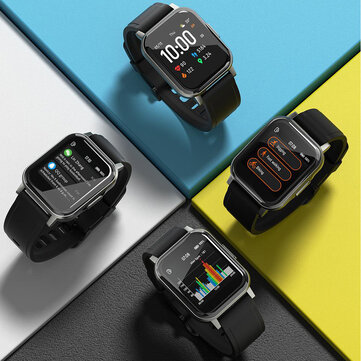 [30Days Long Standby] Haylou LS02 1.4inch Ture Color Full Touch Large Screen 320ppi Resolution 12 Sports Modes bluetooth 5.0 Smart Watch Global Version