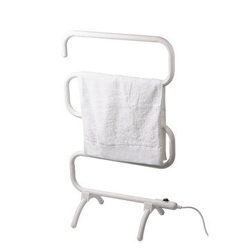 stainless steel electric heated towel rack floor stand towel holder rail electric towel warmer rail bathroom towel dryer