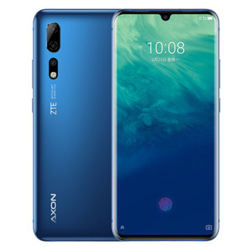 £626.5313%ZTE AXON 10 Pro 6.47 Inch FHD+ Waterdrop Display NFC Android P AI Triple Rear Cameras 8GB 256GB Snapdragon 855 4G SmartphoneSmartphonesfromMobile Phones & Accessorieson banggood.com