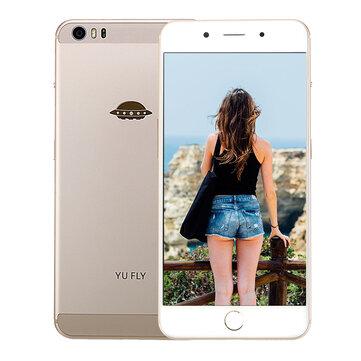 YU FLY F9 6.0 Inch FHD+ Conring Gorilla 4 Glass 4180mAh 4GB RAM 64GB ROM Snapdragon 653 Octa Core 4G Smartphone