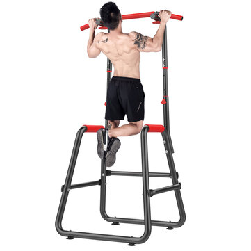 KALOAD Multifunctional Indoor Fitness Equipment Horizontal Bar Single/Parallel Bar Pull Up Trainer Body Buliding Arm Back Exercise