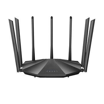 Tenda AC23 AC2100 Dual Band Gigabit WiFi Router Wireless Router 2033Mbps 4X4 MU-MIMO 7*6dBi External Antennas WiFi Router