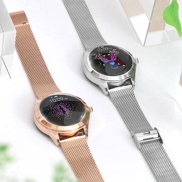 KINGWEAR KW10 Delicate IP68 Waterproof Female Physiological Reminder Real-time Notification Push Smart Watch