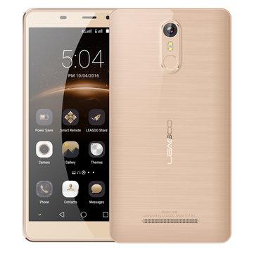 Leagoo M8 5.7'' Corning Gorilla Glass 4 Fingerprint 2GB RAM 16GB ROM MT6580A Quad-Core 3G Smartphone