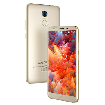Wieppo S8 5.7 Inch Android 7.0 2GB RAM 16GB ROM MTK6737 Quad Core 1.3GHz 4G Smartphone