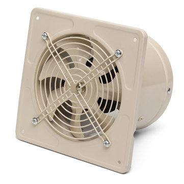 220v 40w ventilation fan 6 inch wall mounted window exhaust fan home bathroom garage air vent fan