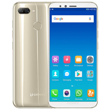 £101.56 19% GIONEE S11 Lite Global Version 5.7 Inch HD 3030mAh 4GB RAM 32GB ROM Snapdragon 430 Octa Core 1.4GHz 4G Smartphone Smartphones from Mobile Phones & Accessories on banggood.com