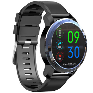 Kospet Optimus Dual Chip System 4G AMOLED Google Play GPS/GLONASS 2G+16GB MIRROR BLACK International7Days Long Standby Smart Watch Phone