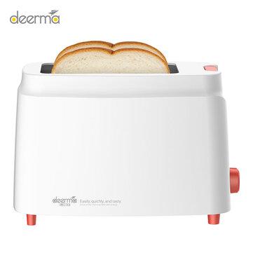 Deerma DEM-SL261 Automatic Bread Maker Toaster Electric Baking Machine Household Breakfast Maker 9 Adjustable Gears Double-side Baking