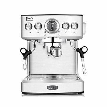 Eupa Stainless Steel Automatic Espresso Machine Coffee Bar Cappuccino Latte Maker Coffee Machine