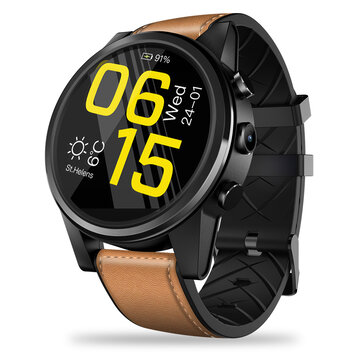 Zeblaze THOR 4 Pro 4G Leather Strap Watch Phone