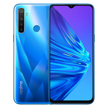 Realme R5 Global Version 6.5 Inch HD+ Android 9.0 5000mAh 12MP AI Quad Cameras 3GB RAM 64GB ROM Snapdragon 665 Octa Core 2.0GHz 4G SmartphoneSmartphonesfromMobile Phones & Accessorieson banggood.com