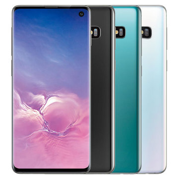 Samsung Galaxy S10 6.1 inch AMOLED Triple Rear Camera Wireless Charge NFC 8GB 128GB Snapdragon 855 Octa Core 4G Smartphone