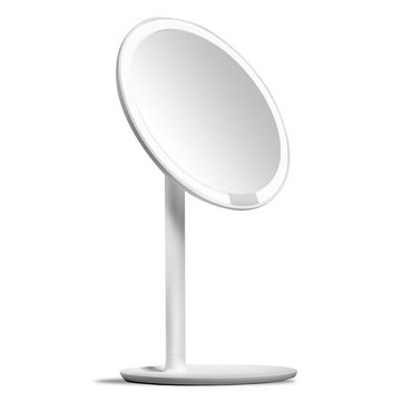 Amiro Lighted Makeup Mirrors with Natural Daylight LED Lights Adjustable Brightness Cordless High Definition Countertop Vanity Mirror from Xiaomi Ecosystem
