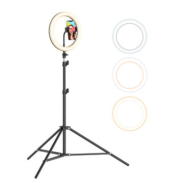 BlitzWolf® BW-SL2 10 Inch USB LED Ring Light Selfie Tripod for VK Tiktok Youtube Live Makeup with 160cm Stand