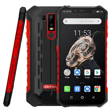 Ulefone Armor 6S NFC IP68 IP69K Waterproof 6.2 inch 6GB 128GB 5000mAh Wireless Charge Helio P70 Octa core 4G Smartphone Smartphones from Mobile Phones & Accessories on banggood.com