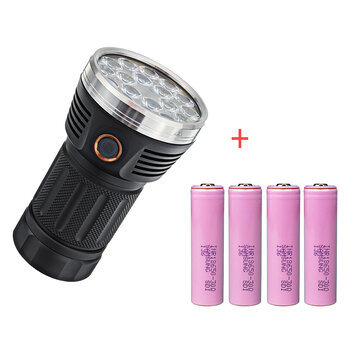 Astrolux MF01S 18xSST20 15000LM Anduril Flashlight+Samsung 30Q 20A 18650 Power Battery