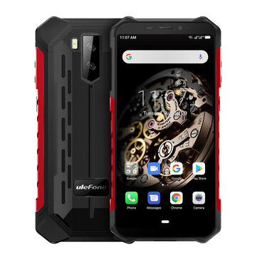 Ulefone Armor X5 5.5 Inch NFC IP68 IP69K Waterproof 3GB 32GB 5000mAh MT6763 Octa core 4G Smartphone Smartphones from Mobile Phones & Accessories on banggood.com