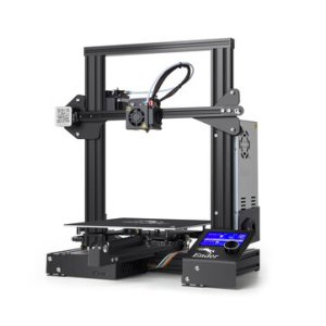 Αποθήκη Τσεχίας   Creality 3D® Ender-3 DIY 3D Printer Kit 220x220x250mm Printing Size With Power Resume Function/V-Slot with POM Wheel/1.75mm 0.4mm Nozzle