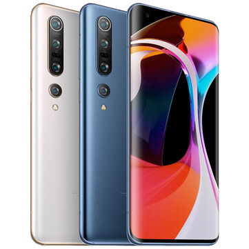 Xiaomi Mi 10 Pro 5G CN Version 108MP Quad Cameras 8K Video Recording 8GB 256GB 6.67 inch 90Hz Fluid AMOLED Display Wireless Charge 50W Fast Charge WiFi 6 NFC Snapdragon 865 Octa core 5G SmartphoneSmartphonesfromMobile Phones & Accessorieson banggood.com