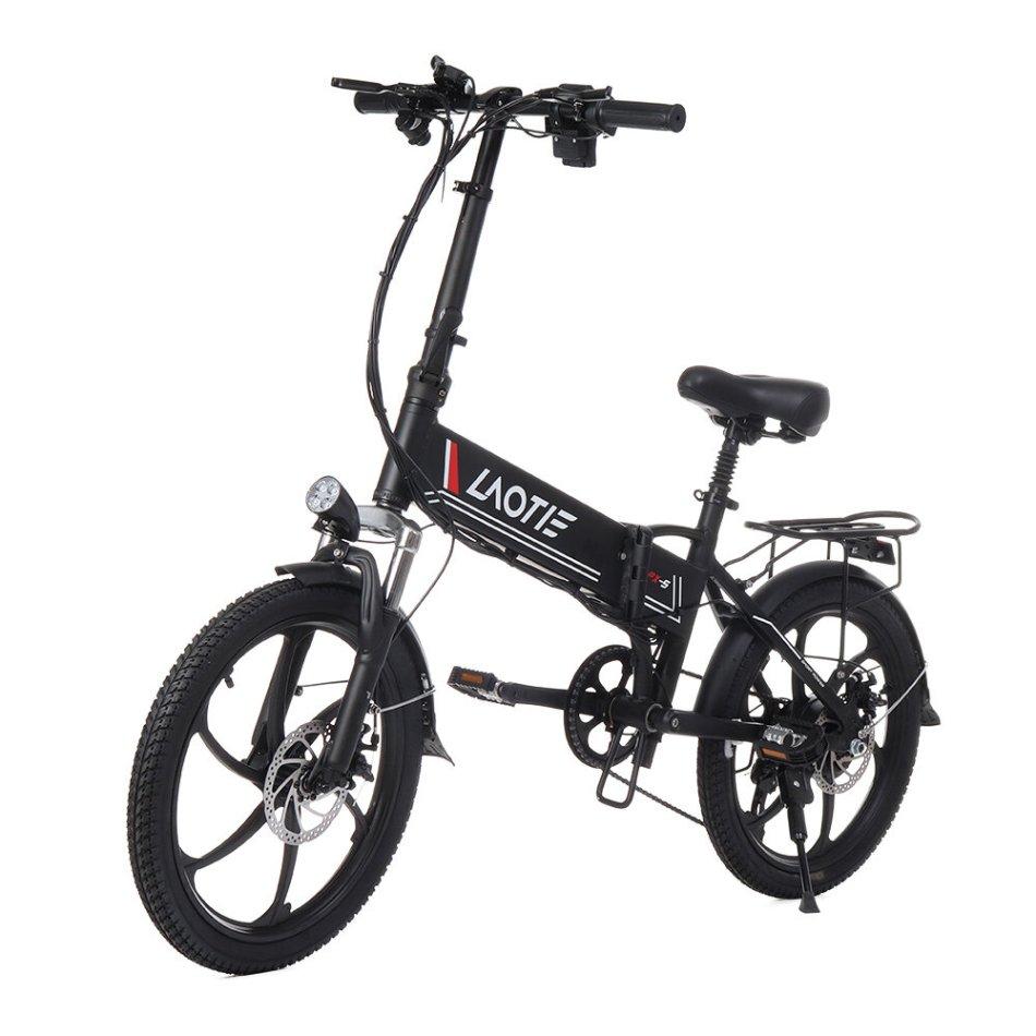 LAOTIE PX5 48V 10.4Ah 350W 20in Folding Electric Moped Bike 35km/h Top Speed 80km Mileage E-Bike EU Plug