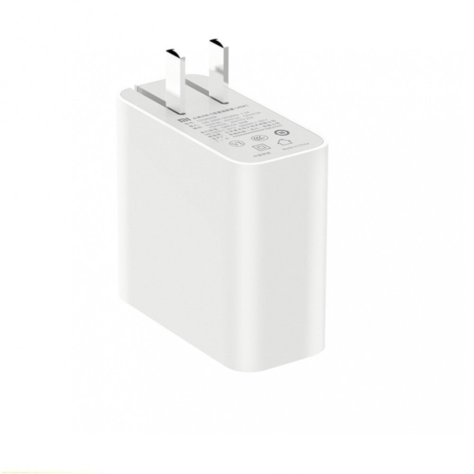 Xiaomi AD651P Type-C Charger 65W Fast Flash Charging Travel Charger Adapter Portable Sockets Charging Port for Xiaomi 10 Pro Iphone11 Laptop