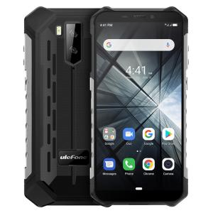 Ulefone ARMOR X3 IP68 IP69K Waterproof 5.5 inch 5000mAh 2GB 32GB MT6580 Quad core 3G Smartphone – Silver EU Version