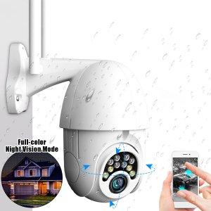 Στα 23.98 € από αποθήκη Τσεχίας μόλις την έστησα… Πραγματικά απίστευτη για τα λεφτά της.. δείτε δείγμα εικόνας στην περιγραφή | GUUDGO 10LED 5X Zoom HD 2MP IP Security Camera WiFi Wireless 1080P Outdoor PTZ Waterproof Night Vision ONVIF