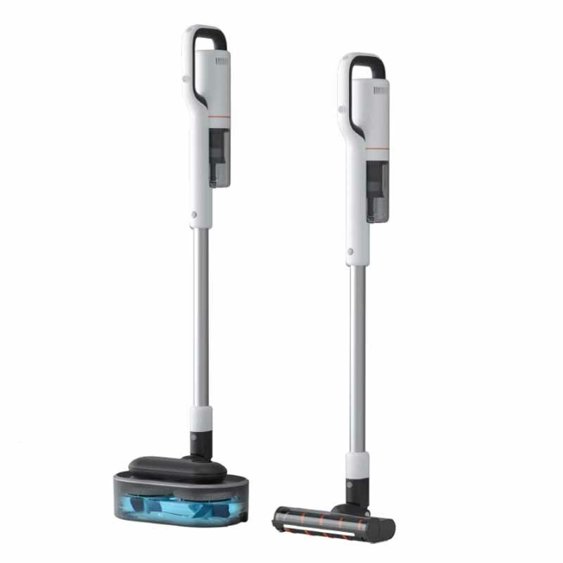 RODIMI NEX S Cordless Stick Handheld Mop Vacuum Cleaner One-click Self-cleaning APP Control Vacuuming and Mopping 25000Pa Powerful Suction 145AW Brushless Motor Lightweight for Home Hard Floor Carpet Car Pet LED Light Sensing Lighting