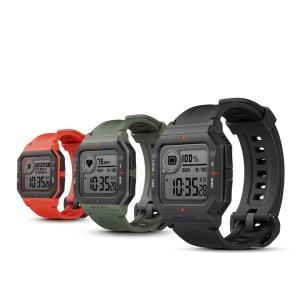 Αποθήκη Κίνας | Original Amazfit NEO 28 Days Long Standby Always On Display Wristband 24 Hours Heart Rate Monitor 5ATM Waterproof Smart Watch