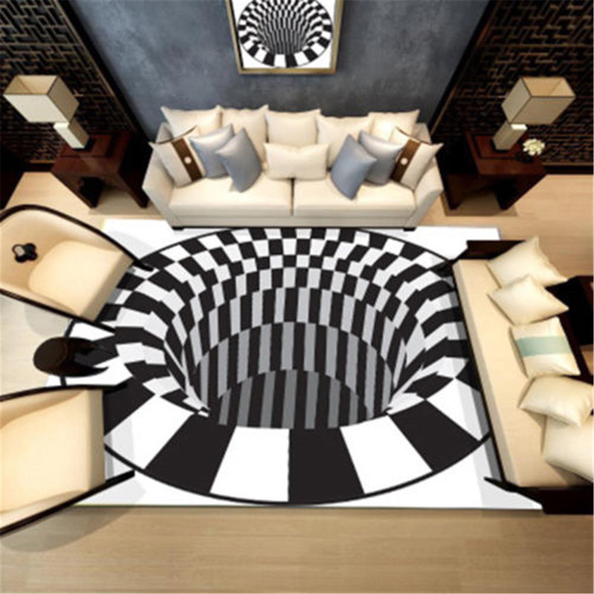 3d Style Rugs Modern Carpet Floor Mat Living Room Non Slip Carpets Home Decorations
