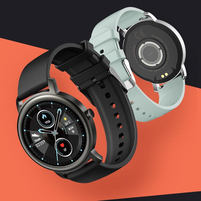 Mibro Air 24h Bio Heart Rate Monitor 12 Sport Modes Custom Dial IP68 Waterproof BT5.0 Smart Watch