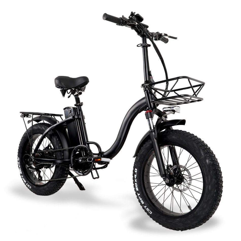 [EU Direct] CMACEWHEEL Y20 48v 15Ah 750W 20in Folding Electric Bike 3 Modes 45km/h Max Speed 60-100km Range Disc Brake E Bike