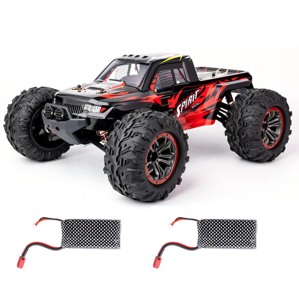XLF X04 1/10 2.4G 4WD Brushless RC Car High Speed 60km/h Vehicle Models Toys Two Battery