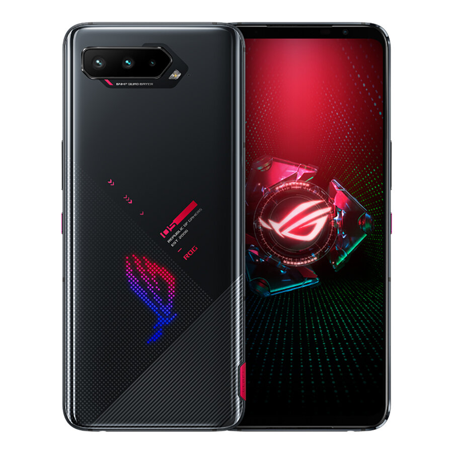 ASUS ROG Phone 5 ZS673KS Global Version 8GB 128GB Snapdragon 888 6.78 inch 144Hz Reflash Rate NFC Android 11.0 6000mAh 5G Gaming Smartphone