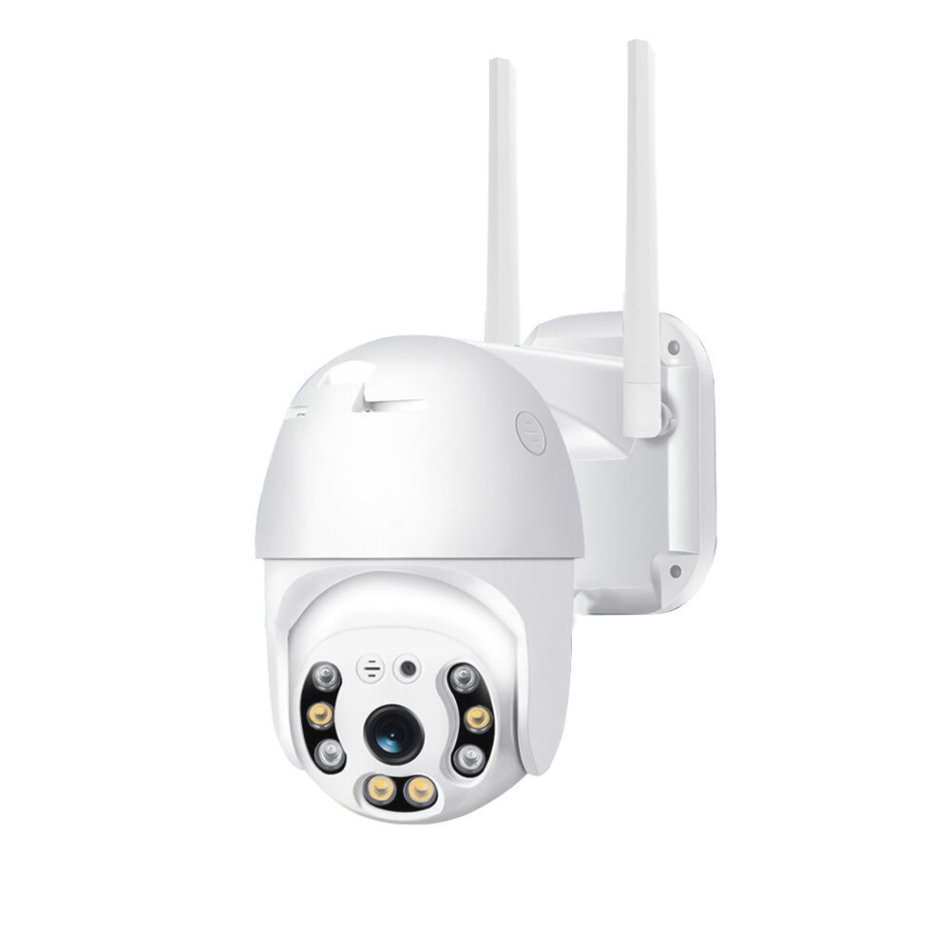 [EU Plug] Xiaovv P2 Dual Antenna WIFI HD 2MP IP Camera 360° PT-Z Rotation H.265 Waterproof IP65 ONVIF Infrared Full Color Night Version from Xiaomi Youpin