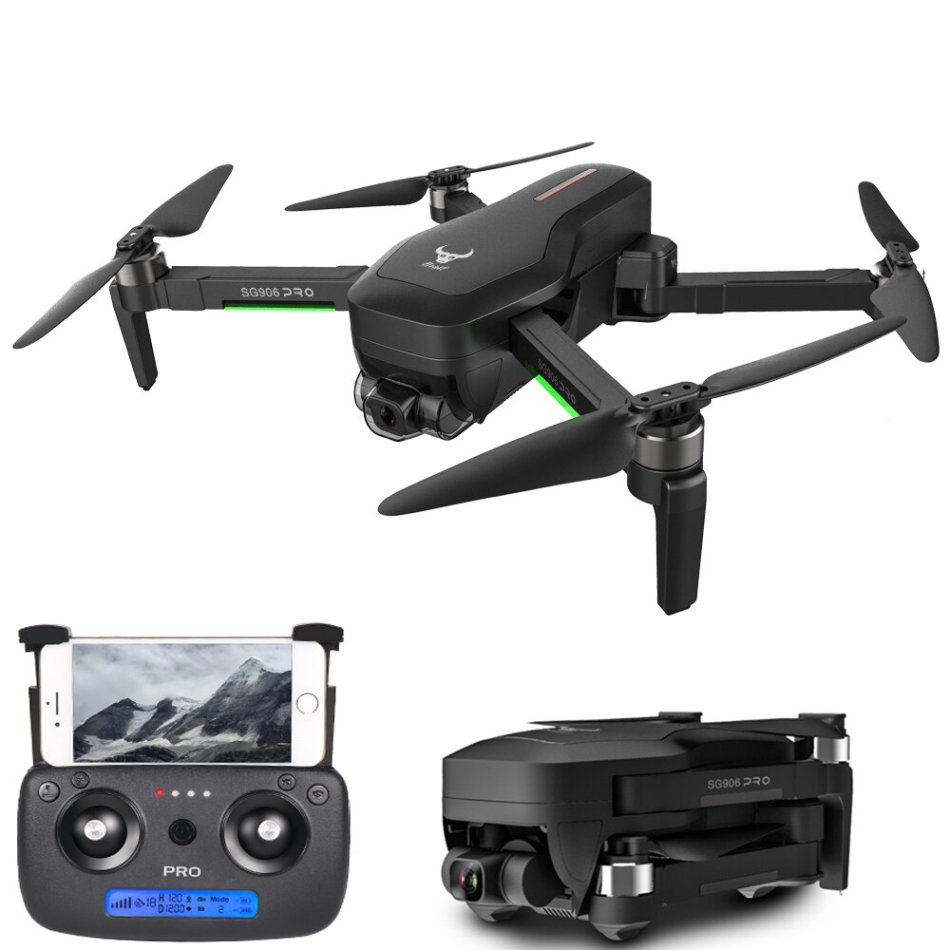 ZLL SG906 PRO 2 GPS 5G WIFI FPV With 4K HD Camera 3-Axis Gimbal 28mins Flight Time Brushless Foldable RC Drone Quadcopter RTF