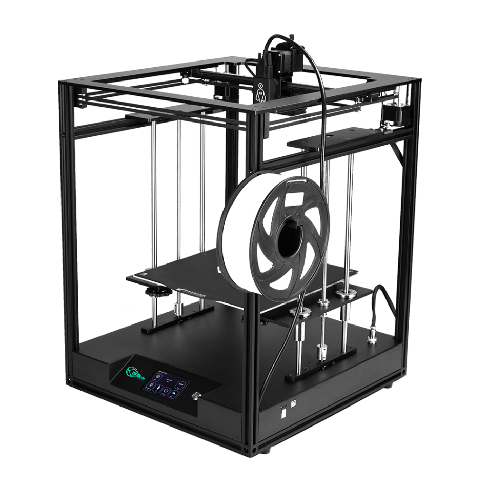 Creativity® ELF Corexy 3D Printer Kit 300x300x350mm Printing Size with Carbon Silicone Glass BMG Extruder Support Auto Bed Leveling