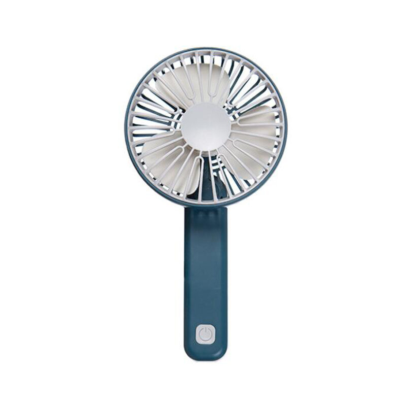 Handheld Mini Portable Multi-Speed Folding Fan USB Charging Low Noise Button Operation