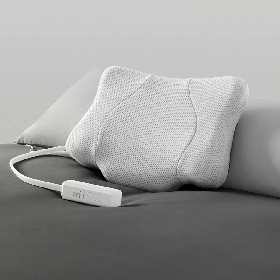 Lejia Multifunction Smart Sleep Traction Pillow from Xiaomi Youpin Technology Hot Compress Lift Massage Electric Adjustable for Neck Back Shoulder Care