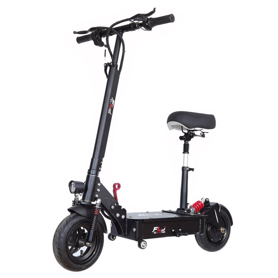 [EU Direct] FLJ K1 35Ah 48V 1200W 10 Inches Tires 45km/h Top Speed 90-120KM Mileage Range Electric Scooter Vehicle