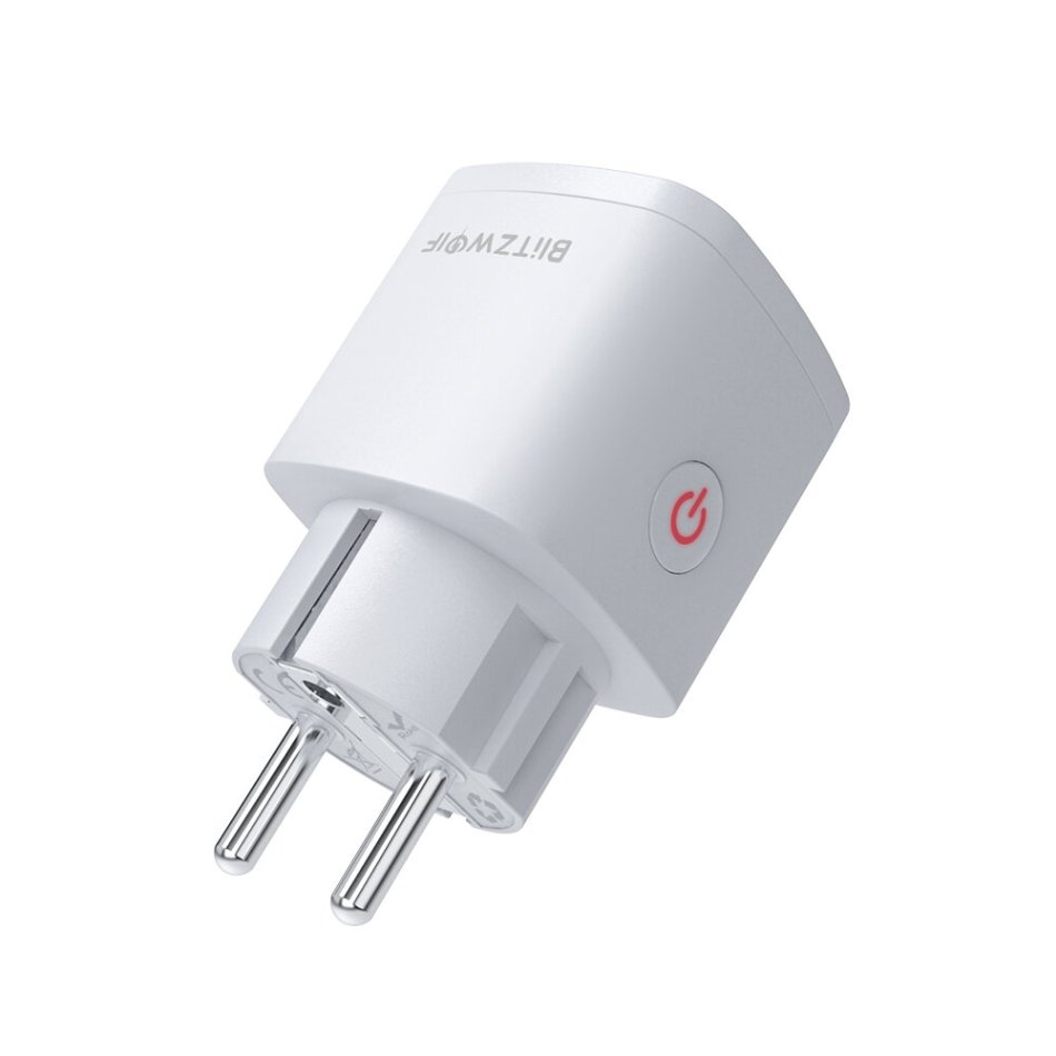 BlitzWolf® BW-SHP13 Zigbee 3.0 Smart WIFI Socket 16A EU Plug Electricity Metering APP Remote Controller Timer Work with Amazon Alexa Google Home